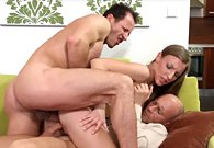 BrokenTeens – Morgan Moon Harddcore Double Penetration Threesome