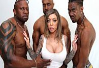 Dogfart Network – Karma Rx gets all her holes pounded by big black cocks