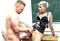 MyDirtyHobby – College students have a quick fuck in the classroom